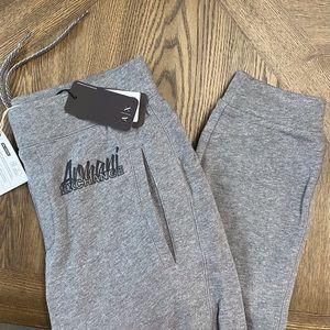 Armani Exchange Authentic Grey Jogger Sweatpants